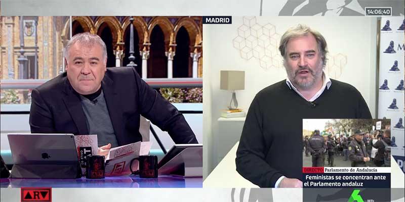 Antonio García Ferreras, la pieza que no encaja en el caso de la supuesta extorsión del portal 'Moncloa.com' a Florentino Pérez