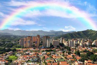 Imagen destacada del día: Arcoíris de esperanza, Venezuela.