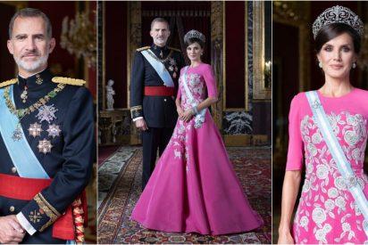 Los Reyes renuevan las fotos oficiales y todos hablan de la inaudita elección de doña Letizia