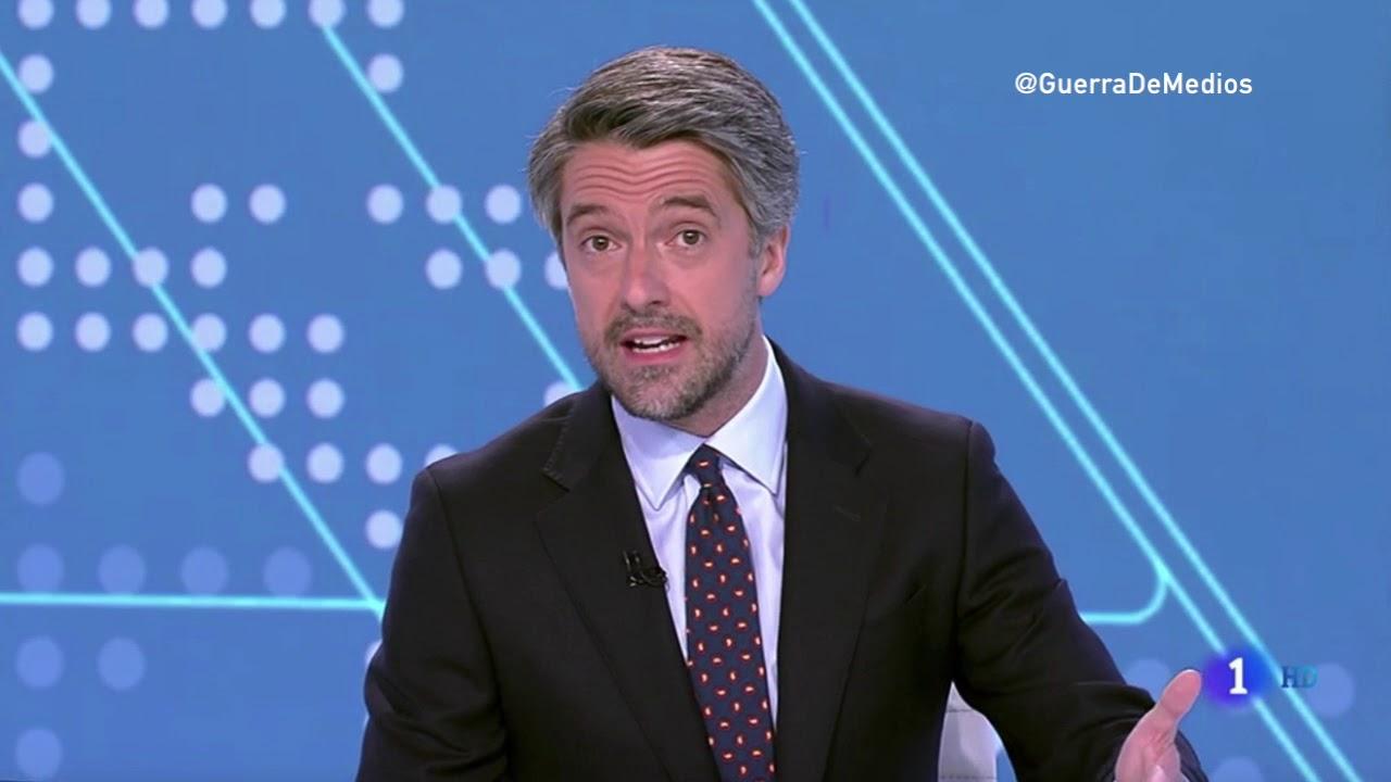"""Troleo masivo a Carlos Franganillo por sumarse a la campaña 'RTVE, de todos y de nadie': """"Nos hemos pasado a Vicente Vallés"""""""