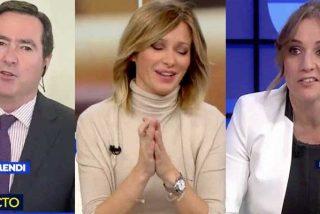 Tensión en 'Espejo Público': Antonio Garamendi exige a Susanna Griso que corte el