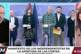 """Juan Carlos Girauta le mete a la separatista Laura Borràs el broncazo de su vida: """"¿Secuestrador yo? Secuestrador tu amigo Otegi, ¡golpista!"""""""