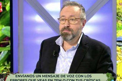 """Juan Carlos Girauta llama """"gilipollas"""" a todos aquellos que llaman a su programa para criticarle por poner fina a la separatista Laura Borràs"""
