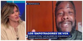 El Quilombo / Griso intenta vengarse del 'empotrador' negro de VOX por haberle humillado con Franco