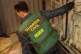 La Guardia Civil desmantela en Málaga una fábrica clandestina de tabaco y evita una catástrofe