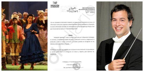 """Los extremeños pagan de su bolsillo el capricho de """"130.000 euros"""" del hermano 'enchufado' de Sánchez: dirigir la ópera 'L'elisir d'amore'"""