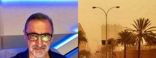 """Carlos Herrera, atrapado en un aeropuerto en Canarias: """"Estoy aquí con dos alemanes, uno disfrazado de Coronavirus y el otro de Satisfayer"""""""