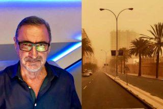 Carlos Herrera, atrapado en un aeropuerto en Canarias: