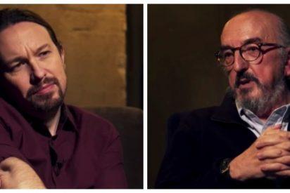 Pablo Iglesias y Jaume Roures