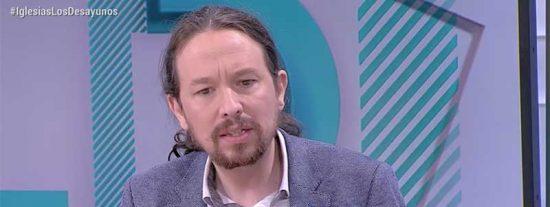 ¿Opositores encarcelados como en Venezuela? Pablo Iglesias fantasea en TVE con un futuro con Pablo Casado en la cárcel y Xabier Fortes calla como una tumba
