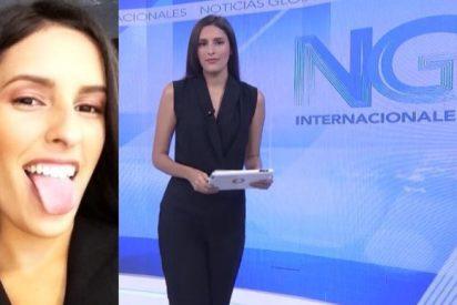 La terrible metedura de pata de una periodista al informar del coronavirus