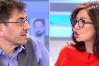 """Ana Rosa Quintana se harta del chavismo de Monedero: """"España tiene un problema con Guaidó y es Podemos"""""""
