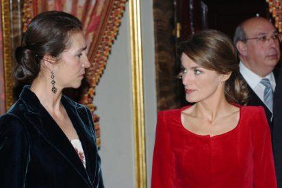 Guerra en Casa Real: la Infanta Elena filtra unas escandalosas aventuras sexuales de Doña Letizia