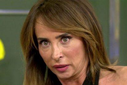 Locura en 'Sálvame': María Patiño la lía al leer un mensaje confidencial en directo