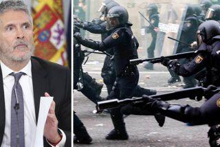 La Policía Nacional se harta del irrespetuoso Marlaska por no acometer la equiparación salarial mientras riegan de millones a Cataluña