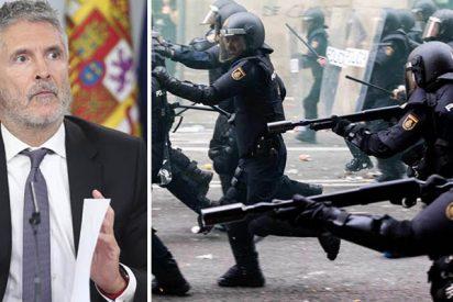 La Policía Nacional se harta de Marlaska por no acometer la equiparación salarial mientras riegan de millones a Cataluña