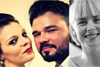 La ex de Rufián lanza un violento dardo a Marta Pagola, su actual novia: