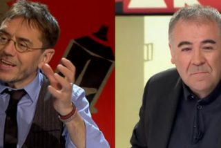 """Monedero usa la discapacidad de Echenique para machacar a García Ferreras: """"Muy bien visto, eres un lince"""""""