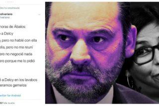Ábalos se 'zumbó' a Delcy Rodríguez en los lavabos del Aeropuerto y el ministro y la chavista esperan gemelos