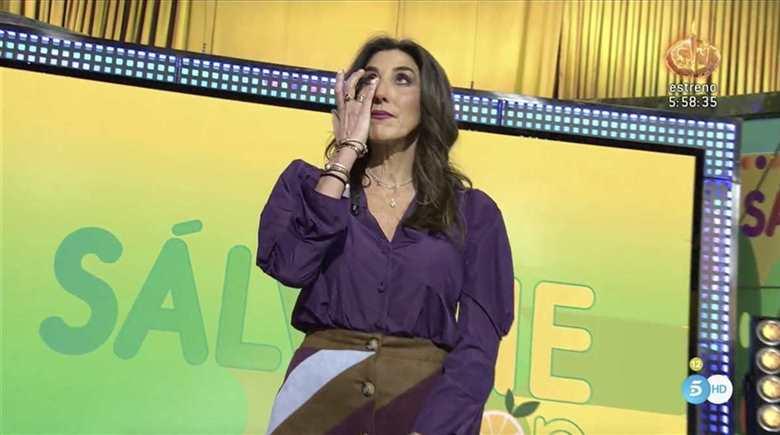 Paz Padilla regresa 'Sálvame' emocionada y repartiendo estopa a todos sus compañeros