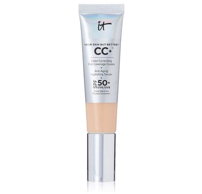 IT Cosmetics Your Skin But Better CC+ Cream with SPF 50+ - productos belleza que usan los maquilladores