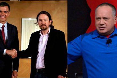 El PSOE niega con una famosa 'fórmula chavista' que Sánchez hablara por móvil con Delcy Rodríguez
