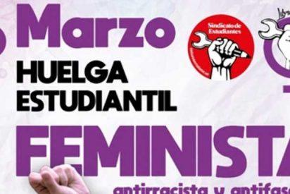 El repulsivo panfleto de una huelga estudiantil que insulta brutalmente a jueces, religiosos, banqueros y políticos de derechas