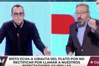 La encerrona a Juan Carlos Girauta deja a Risto Mejide retratado y a Cuatro muy tocado: