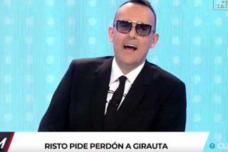 El Burladero / Bajada de pantalones: Risto Mejide le pide perdón a Girauta después de que la dirección del programa le suplicara que volviera