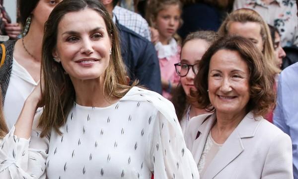 Preocupación en Casa Real: la madre de Doña Letizia 'entra' en Palacio con un novio inesperado