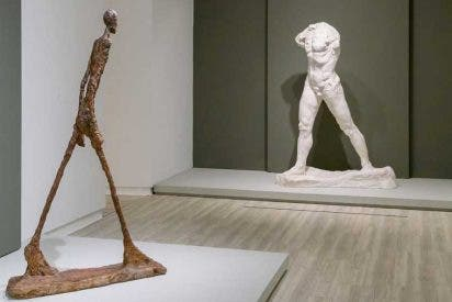 De Rodin a Giacometti, la arruga es bella