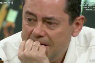 No hay consuelo para Tomás Roncero: el periodista rompe a llorar en 'El Chiringuito' incapaz de digerir la derrota del Madrid