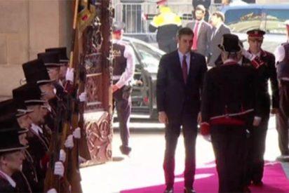 El '¡que no se note!' de Sánchez e Iván Redondo queda en ridículo ante el recibimiento de gala de Torra