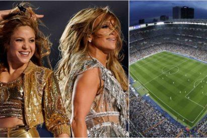 La 'gloriosa' actuación en un partido en el Bernabéu que comparada con la Super Bowl deja a España como un país de pandereta