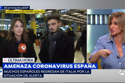 Susanna Griso cuela un bulo del coronavirus en vivo y los médicos se llevan las manos a la cabeza