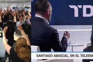 La entrevista a Abascal desata una guerra interna en TVE: el izquierdista Consejo de Informativos está que trina por si pierde el control del 'cortijo'
