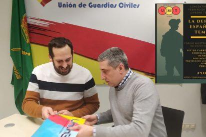 La Unión de Guardias Civiles , firma un importante convenio de colaboración con unión de militares de tropa UMT