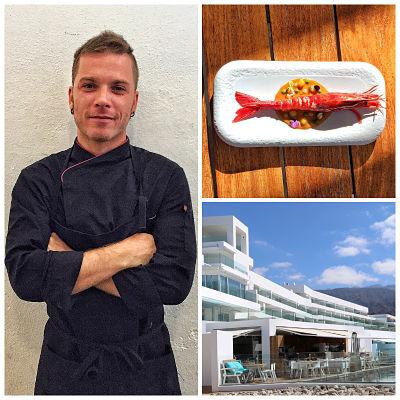 Andrea Ravasio, chef de Baobab Suites***** participará en la final del Concurso de Cocina Creativa de la Gamba Roja de Dénia