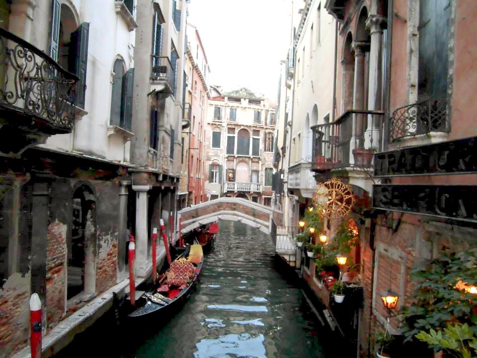 Canales de Venecia, Italia: Imagen destacada del día