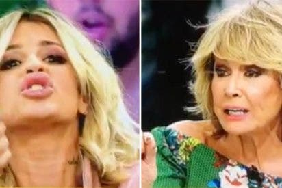 """Mila Ximénez llama """"gilipollas"""" a Ylenia Padilla en una escena más que tensa de 'Sálvame'"""
