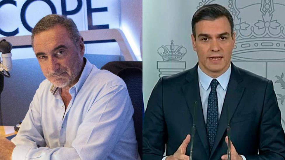 """Carlos Herrera se harta de las peroratas insufribles de Sánchez en televisión: """"Cuidado, la propaganda no es liderazgo"""""""