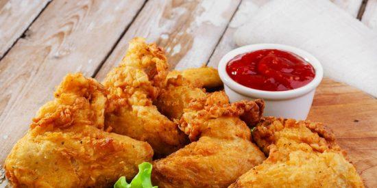 Pollo frito americano: Estilo KFC
