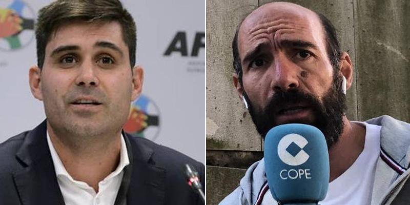 """Tremenda enganchada en COPE entre David Aganzo y Alcalá: """"¡Ten mucho cuidado con lo que dices!"""""""