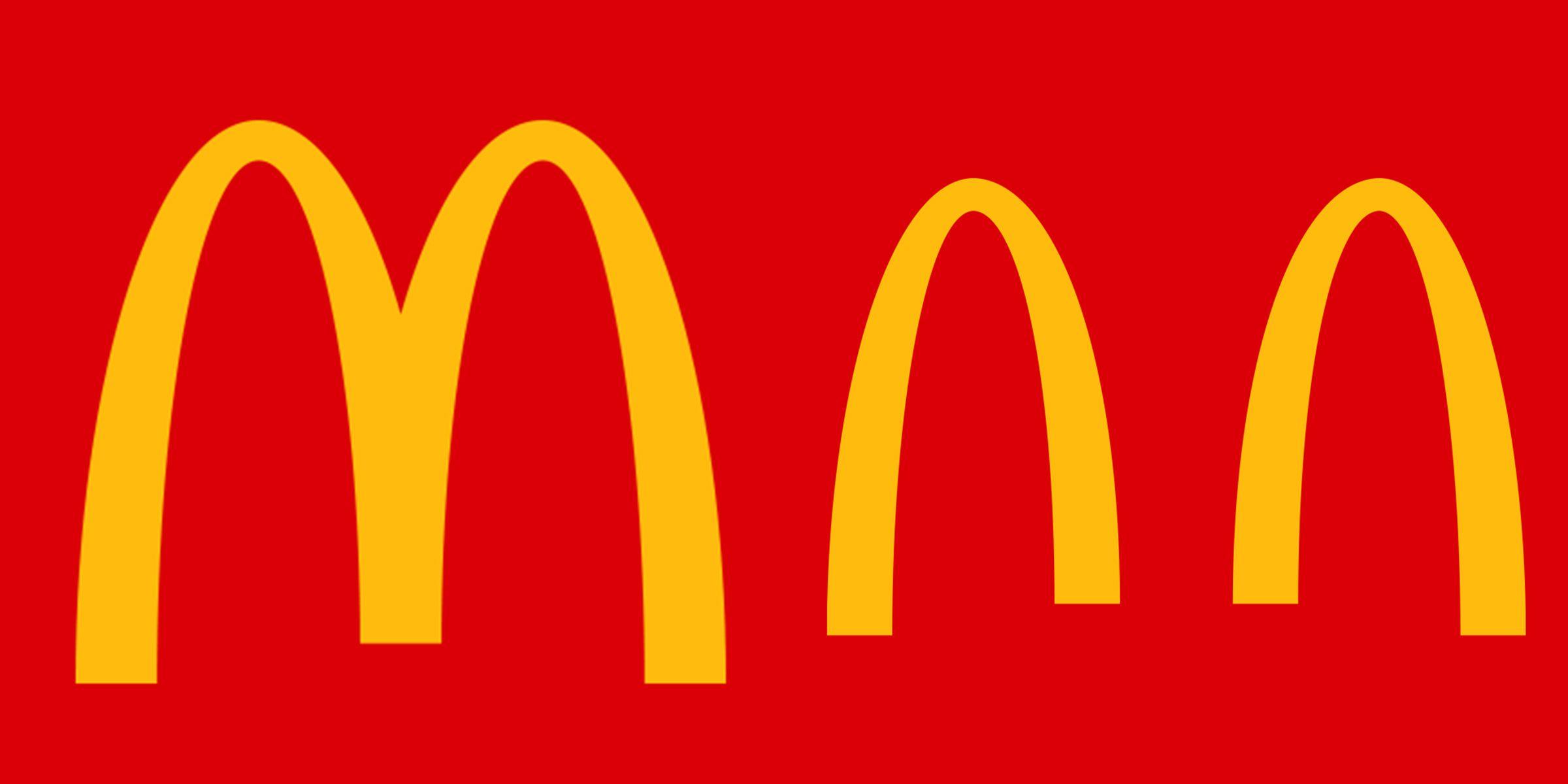Coronavirus: McDonald's divide su logo en dos para fomentar el distanciamiento social