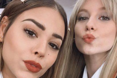 Llevarás mejor la cuarentena: Danna Paola y Ester Expósito ('Élite') arrasan con este sensual vídeo de TikTok