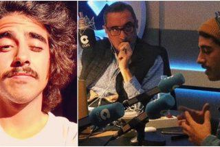 El hijo de Carlos Herrera inaugura su programa en la radio: