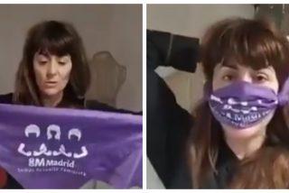 La nueva imbecilidad feminista: enseñan a fabricar mascarillas para protegerse del 'patriarcavirus'