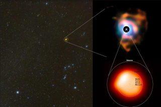 Betelgeuse: la estrella gigante que se debate entre la vida y la muerte