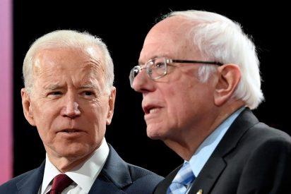 Joe Biden resucita en el Supermartes aunque Bernie Sanders le gana en California