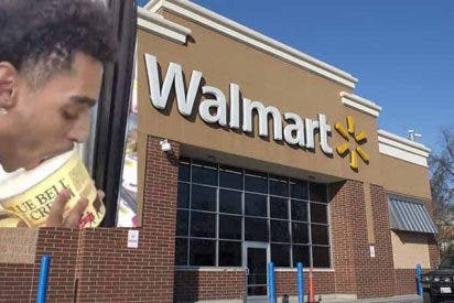 Encarcelan a un hombre por hacer una guarrería con un helado de Walmart y publicarla en redes sociales